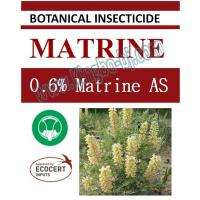 Quality 0.6% Matrine AS, biopesticide, organic insecticide, botanic, natural for sale