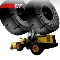 Quality APEX Wheel Loader Solid Tire for 15.5-25, 16.00-25, 17.5-25, 18.00-25, 20.5-25, 23.5-25, 26.5-25, 29.5-25, 35/65-33 for sale