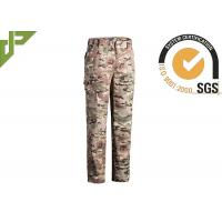 Quality Multicamo Military Combat Trousers With Cargo Pockets Quick Dry Scratch Resistant for sale