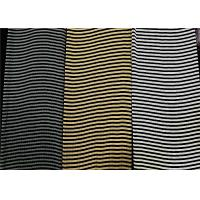 Buy cheap 100% Silk Knit Fabric Stripe Yarn Dyed Seamless Stretchable 120 G/Meter from wholesalers