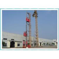 Quality Resident Construction Passenger Material Hoist With Frequency Control System for sale