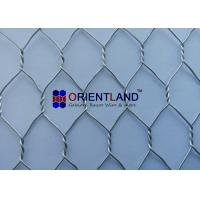 Quality 3/4 Chicken Wire Cloth , Hot Dipped Galvanized Poultry Netting Strong Structure for sale