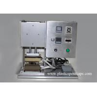 China Semi - Automatic Plastic Spout Stand Up Pouch Sealing Machine For Seal Press Nozzle on sale