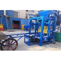 China QT4-25 Cement Hollow Block Making Machine , Hydraulic Paver Block Making Machine on sale