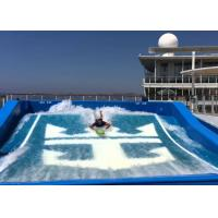 Quality Attractive Water Wave Pool Flowrider Surf Skateboard Simulator Eco - friendly for sale