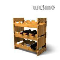 Quality Eco Friendly WTB0303A Bamboo Red Wine Racks for Personalized Wine Accessories for sale