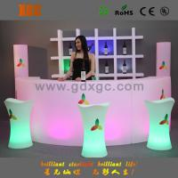 Cheap multi color changing plastic furniture,night club illuminated led bar counter wholesale