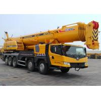 Buy cheap 130 Ton Construction All Terrian crane equipment XCT130 , 80km / h from wholesalers