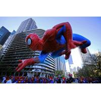 Spiderman Flying Giant Advertising Balloons , Event Giant Advertising Inflatables