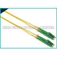 Buy cheap Simplex ST To LC Fiber Patch Cable Singlemode 900 Micron Tight Buffered from wholesalers