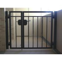 Ornamental wrought iron indoor swing gate home jpg quotes