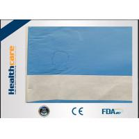 Buy cheap Latex Free Disposable Surgical Drapes,Nonwoven Single Plain Sterile Drape For from wholesalers