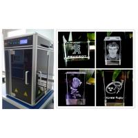 Quality Air Cooling 4000HZ 3D Laser Engraving Machine Diode Pumped For Glass Crystals for sale