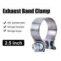 """Quality Catalytic Converter Repair Parts 2.5"""" Narrow Band Clamp For Exhaust Tip for sale"""