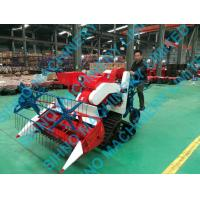 4LZ-0.7 rice and wheat combine harvester, small paddy farm harvester