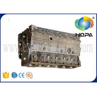 China 6735-21-1010 Engine Cylinder Block Head for 6D102 Excavator Diesel Engine Spare Parts PC200-6 on sale