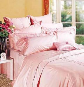 China satin bedding sets on sale