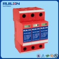 China Ruilon TD PV1000 Series lightning Arrester surge protector for photovoltaic system on sale