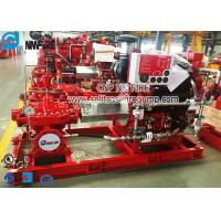 Buy cheap UL Listed And FM Approval Horizontal Split Case Fire Pump With Diesel Engine from wholesalers