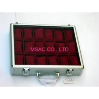 Quality MS-WT-08 Aluminum Watch Case / Acrylic Watch Case Transparent Color For Display for sale
