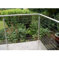 Quality Corrosion Resistance Stainless Steel Balcony Railing With Different Polishing Processes for sale