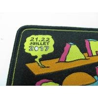 Quality Decorative Cool Embroidered Motorcycle Patches Colorful Dry Cleanable for sale