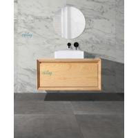 Quality Customized Size Timber Top Bathroom Vanity Floor Standing Or Wall - Hung Type for sale