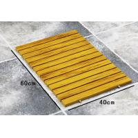 Buy Recycle Waterproof WPC Composite Decking Bath Bathroom Floor Mat at wholesale prices