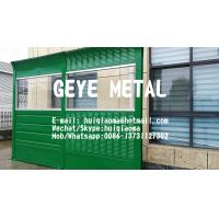 Quality Reflective & Absorptive Metal Combined Acoustic Noise Barrier Wall, Sound Insulation Fences for sale