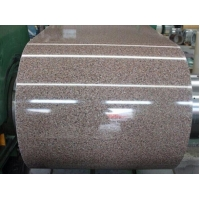 Quality 430 Marbling Pattern PVDF Painted Steel Coil for sale