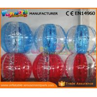 Buy cheap Human Sized Soccer Bubble Ball Inflatable Zorb Ball Heat Sealed 1 Year Warranty product