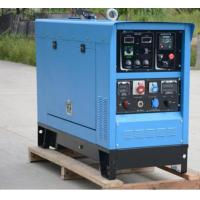 China Air Cooling 300Amp Engine Driven Welding Machine AC Power 10kva Portable IP23 on sale