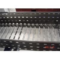 Galvanized Perforated Steel Trench Ladder Cable Tray Roll Forming Machine for sale