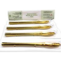 Buy cheap Golden Luxury 45°Angle Blister Manual Pen With 9 12 14 17 18U Needle Single product