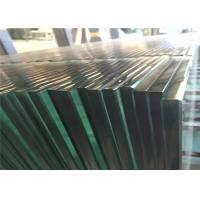 Quality Clear Tempered Safety Glass 3mm - 19mm Toughened Glass For Partition Wall for sale