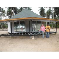 Buy New design Prefab Bali Bungalow , Overwater Bungalows For Seaside at wholesale prices