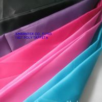 Buy cheap F1103 190T 100%polyester taffeta printing for garment lining 66DX66D 60gsm 150cm product