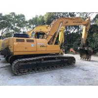 Quality A/C Cabin Second Hand Hyundai Excavators 220LC-5 Smooth Running Long Lifespan for sale