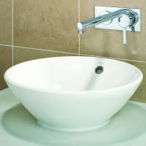 China sanitaryware round under counter basin vanity cabinet washing sink bathroom ceramic basin set on sale