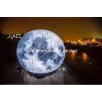 Quality 3m Huge Helium Balloon for National Day Holiday Decorations , Parade Balloon Mid autumn moon for sale