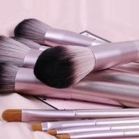Quality 10 Pieces Vegan Makeup Brushes , Beauty Professional Brush Set 15*23*3cm for sale