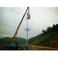 Stand Alone Maglev Turbines Wind Solar Hybrid Video Surveillance System