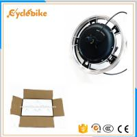 Quality 16 Inch Brushless Electric Bike Hub Motor For Bicycles , 48V 1000W Mountain Bike Electric Motor for sale