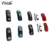China 1:100 scale ABS plastic model painted car model toy 4-4.8cm for architectural miniature kits on sale