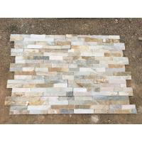 China Beige slate wall stone panels for wall stone cladding on sale