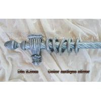 Buy cheap shower curtain poles for wooden product