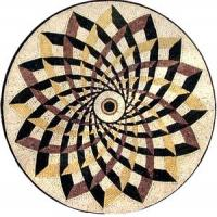 Quality mosaic PY-4851SD marble mixed stainless steel mosaic for sale
