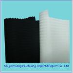 TC herringbone pocket fabric balck or semiwhite