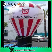 Quality White And Red Event Inflatable Balloon , Party Inflatable Ball for sale