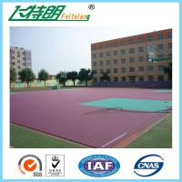 Quality Rubber Sport Court Flooring Anti Slip Floor Coating Acrylic Sports Surfaces for sale